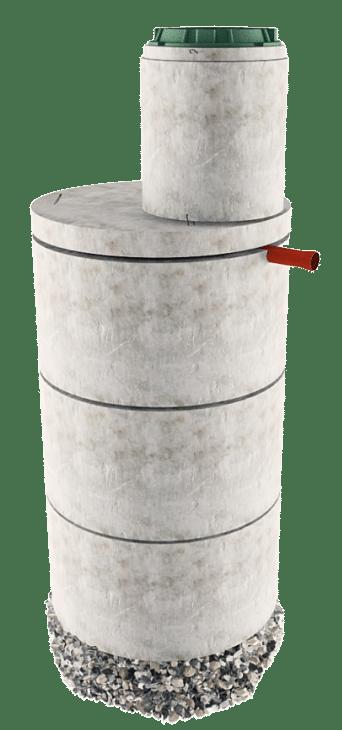 Септик из бетонных колец в Рузском районе